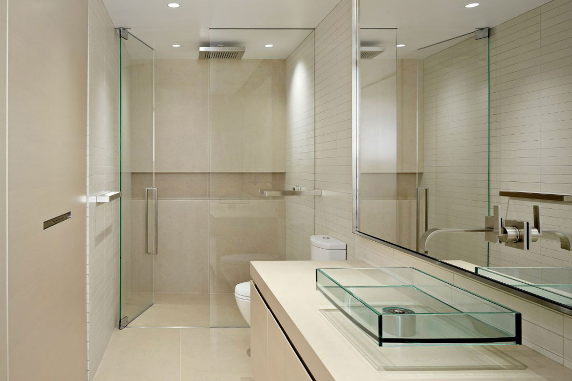 Want A Wave Of Newness In Your Bathroom Try Glass Doors In